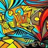 Dynamik, Surreal, Zeichnung, Zeichnungen
