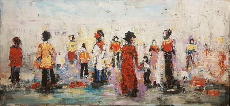 Expressionismus, Acrylmalerei, Malerei, Menschen, Kunstwerk, Moderne malerei
