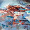 Moderne malerei, Moderne kunst, Abstrakte malerei, Zeitgenössische kunst