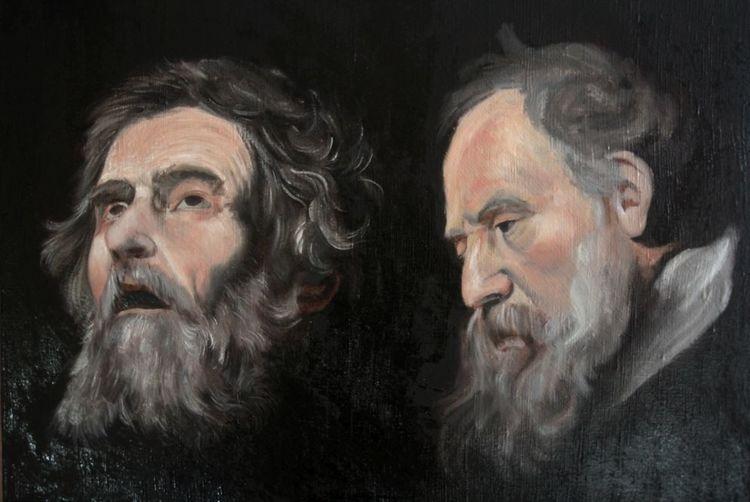 Studie, Ribera, Barock, Rubens, Holländer, Portrait