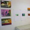 Mappenvorbereitung, Ausstellung, Malerei, Gemälde