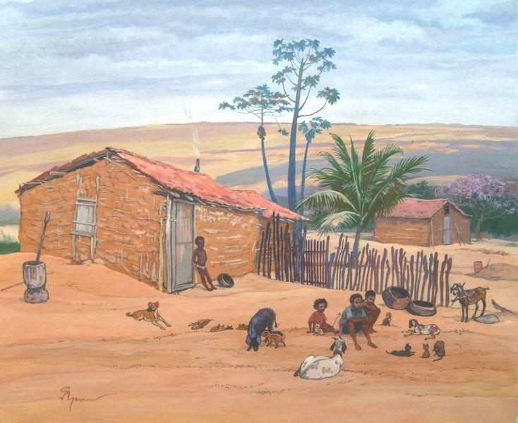 Brasilien, Bahia, Бразилия, Деревня, Pankararé, Sergey yarovoy