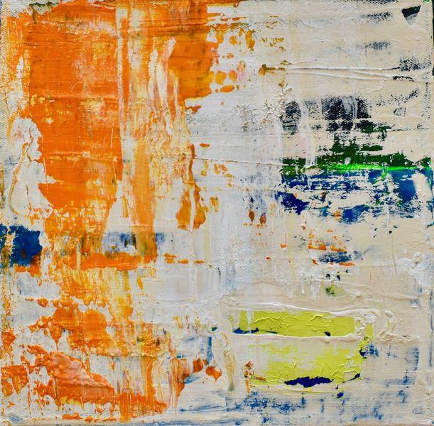 Abstrakt, Gelb, Licht, Grün, Malerei