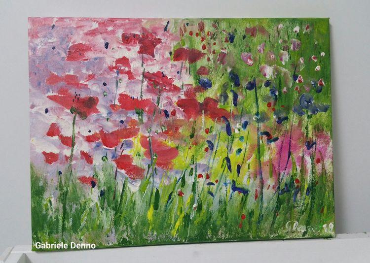 Blumen, Bauerngarten, Traum, Garten, Blumenwiese, Pflanzen