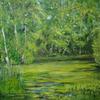 Moor, Landschaftsmalerei, Frosch, Zwillbrocker venn