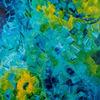 Wasser, Meer, Blau, Abstrakt