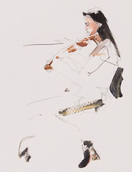 Musik, Philharmonie, Mozart, Frau, Violine, Dortmund