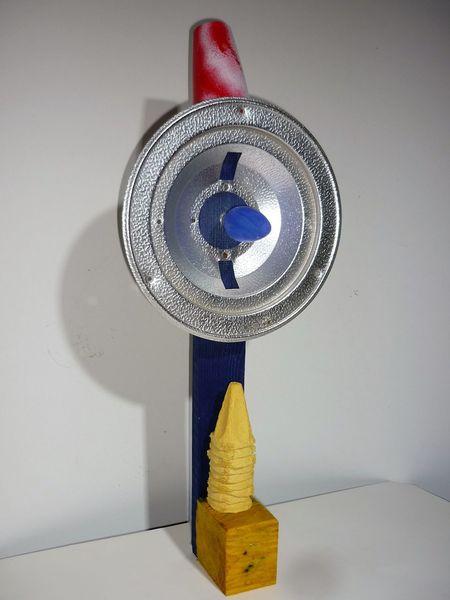 Assemblage, Ironie, Montage, Skulptur, Plastik, Licht