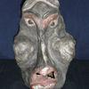 Relief, Skulptur, Gesicht, Keramik