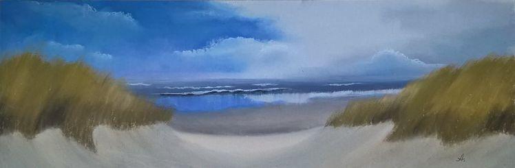 Nordsee, Dünen, Insel, Malerei