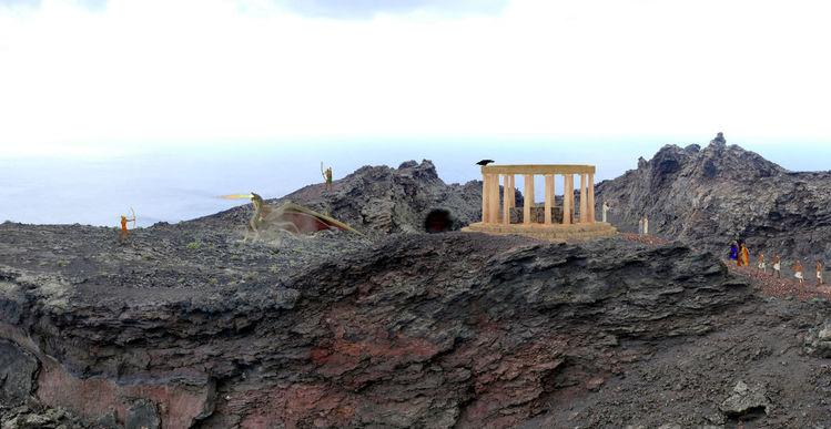 Mondgöttin, Apollo, Sonnengott, Artemis, Drache, Griechische mythologie