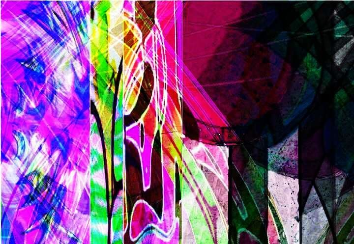 Bunt, Abstrakt, Bschoeni, Graffiti, Digitale kunst,
