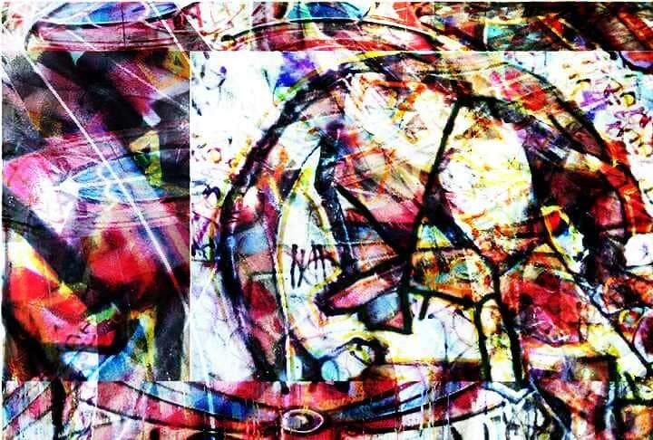 Abstrakt, Bunt, Bschoeni, Graffiti, Digitale kunst