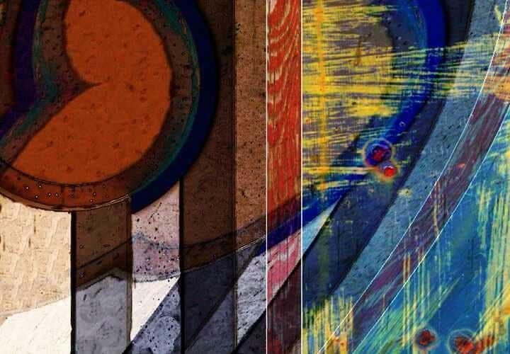 Abstrakt, Bschoeni, Graffiti, Bunt, Digitale kunst,