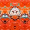 Bschoeni, Abstrakt, Orange, Taj mahal