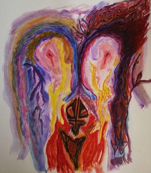 Schöpfung, Gedanken, Reise, Moment, Malerei,