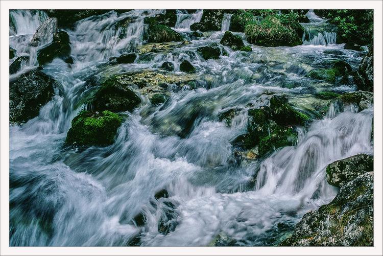Wildbach, Fließen, Natur, Spritze, Wasser, Kaskade
