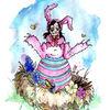 Ostern, Nest, Ei, Frühling