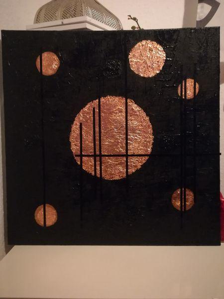 Malerei, Schwarz, Abstrakt