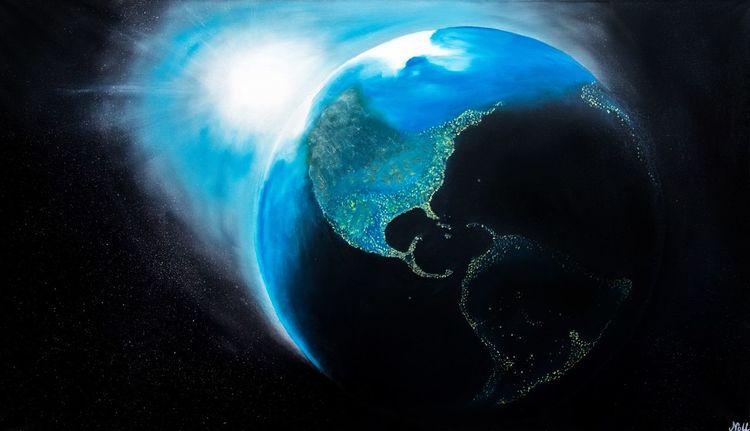 Universum, Sonne, Weltall, Planet, Erde, Sonnensystem