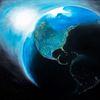Sonne, Universum, Weltall, Planet
