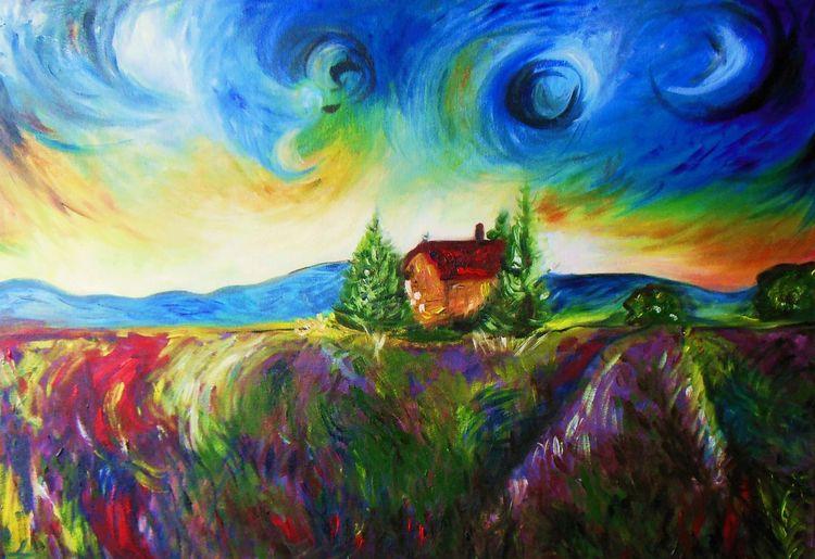 Natur, Malerei, Landschaft