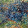 Vogelperspektive, Gemälde, Birdview, Unberührt