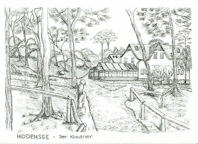 Vorpommern, Kloster, Insel, Ostsee, Mecklenburg, Hiddensee