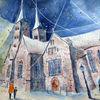 Kirche, Westfale, Weserbergland, Architektur