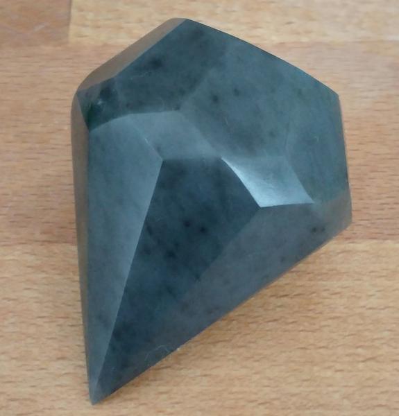Speckstein, Diamant, Schwarz, Kunsthandwerk