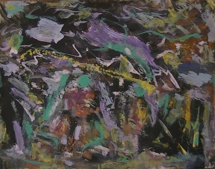 Wild, Abstrakte malerei, Abstrakter expressionismus, Malerei