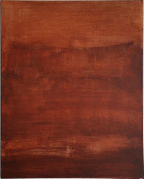Modern, Abstrakt, Siena, Expressionismus, Rot, Malerei