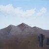 Surreal, Kaktus, Schwarz, Abstrakt
