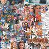 Collage, Musik, Kino, Tanz
