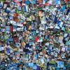 Farben, Bunt, Collage, Mischtechnik
