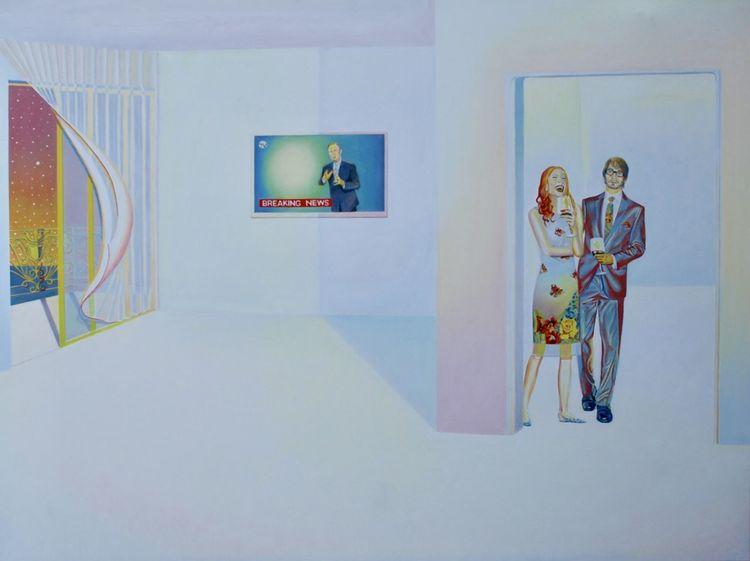 Malerei modern, Farben, Malerei