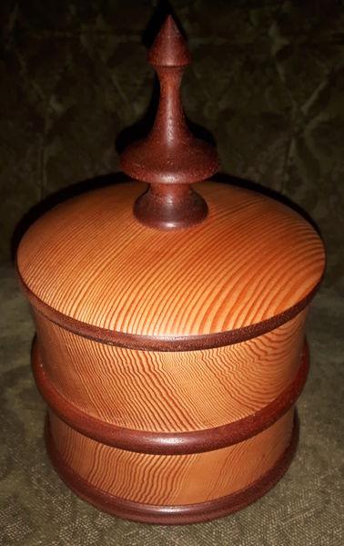 Holz, Holzschale, Dose, Schmuck, Dekoration, Holzobjekt