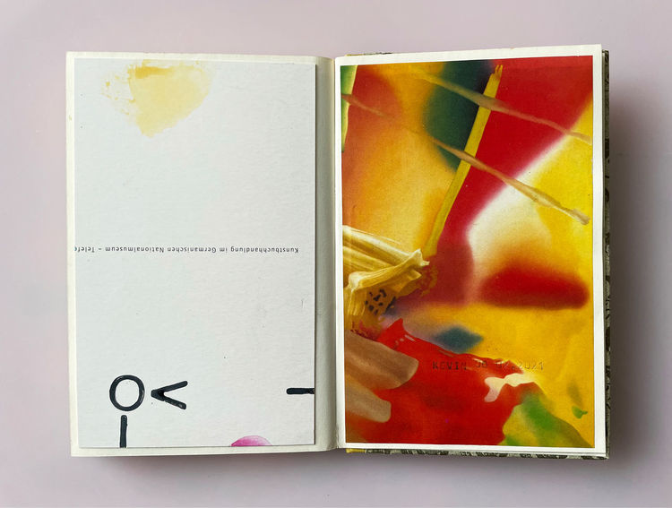 Farben, Portrait, Mischtechnik,