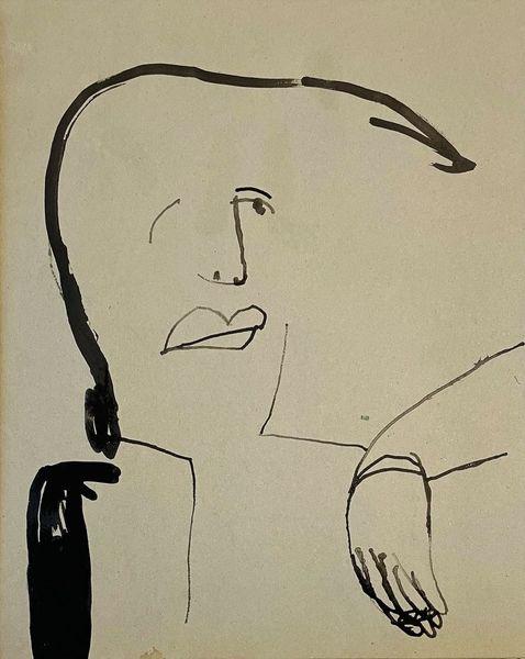 Portrait, Zeichnungen,