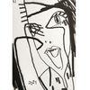 Zeichnung, Monika, Portrait, Zeichnungen