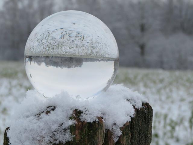 Fotografie, Glaskugel, Winter