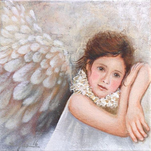 Geburt, Gemälde, Acryl acrylmalerei, Modern art, Engel, Schutzengel