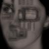 Dystopisch, Gesicht, Zukunft, Menschen