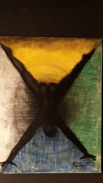 Menschen, Modern art, Abstrakt, Malerei, Welt, Kopf