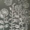 Schwar, Blumen, Modern art, Mischtechnik