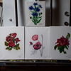 Blumen, Farben, Malerei, Technik