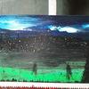 Modern art, Licht, Landschaft, Malerei