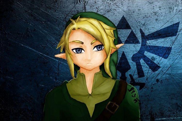 Spiel, Zelda, Link, Digitale kunst