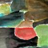 Grün, Schwarz, Rot, Malerei