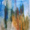 Abstrakt, Blau, Bunt, Malerei